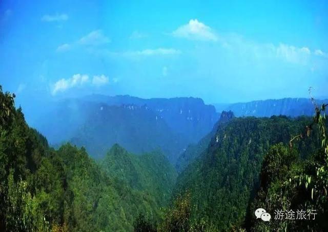 重庆石柱黄水大风堡