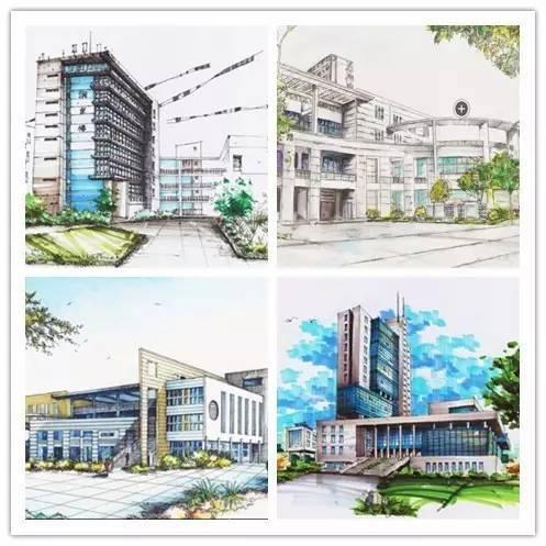 手绘版福建省内13所大学