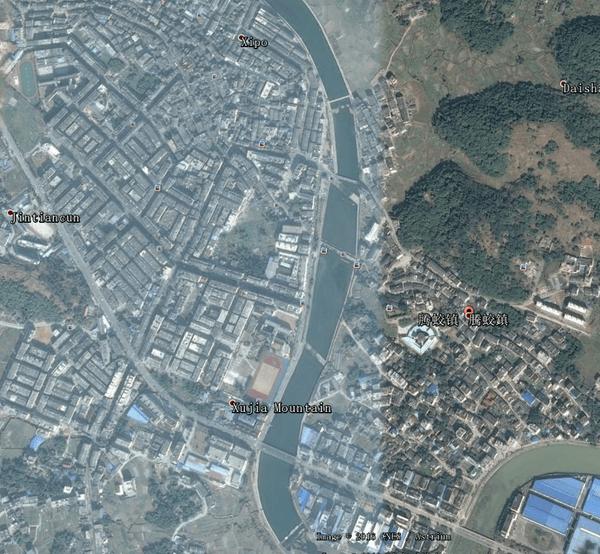 平阳各乡镇卫星地图,很全哦图片