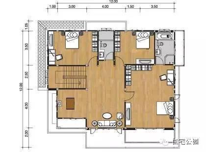 微信公众号:住宅公园,免费300套自建房别墅图纸下载,乡村别墅设计图片