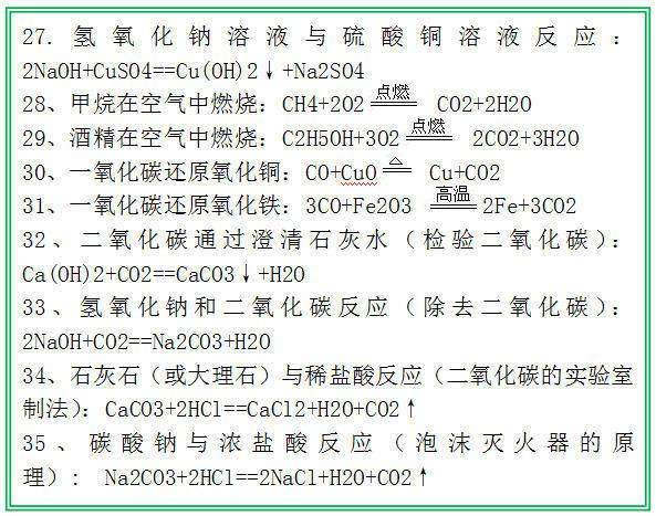 怎样提高初中化学成绩?牢记5类公式,再加27分