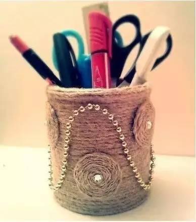 薯片桶的创意手工制作,跟孩图片