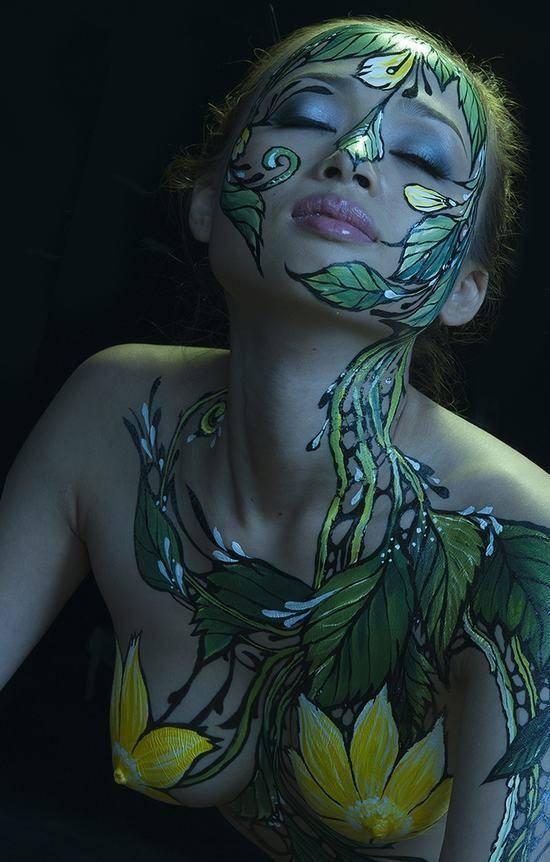 人人体艺术_女人的人体艺术,丛林美到极