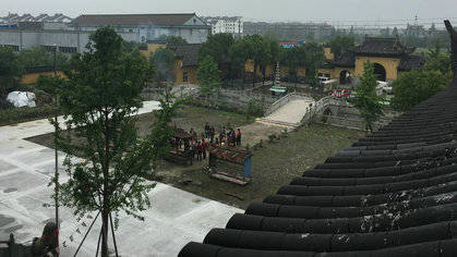 海宁仲济禅寺 一座得名于江南古镇的寺院