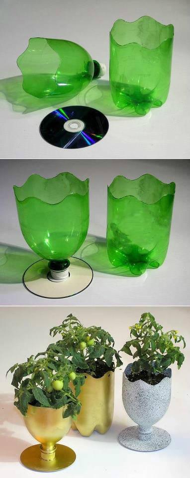 教你用废旧塑料瓶制作变废为宝——变宝网
