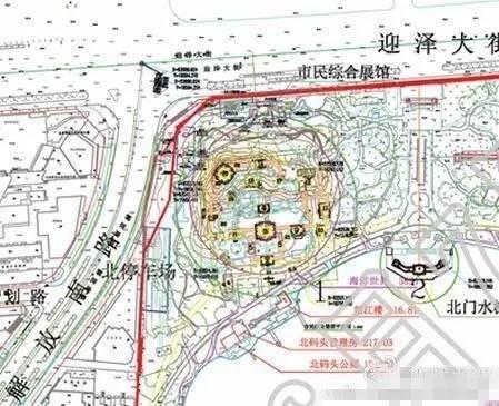太原迎泽公园的湖要扩建了!图片