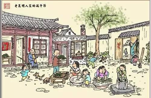 端午节中的阶段包粽子三步骤dea的具体传统图片