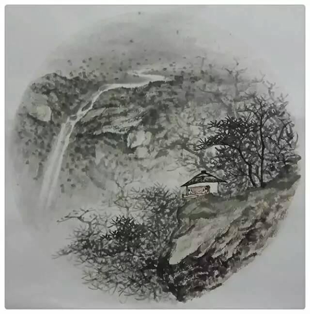 阳刚与灵秀——安徽著名画家周逢刚的水墨艺术图片
