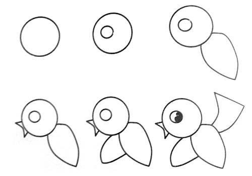 简简单单教孩子画各种小动物,快存下吧!