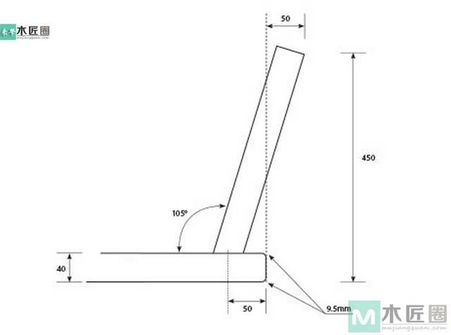简约,三脚小板凳的制作步骤图片