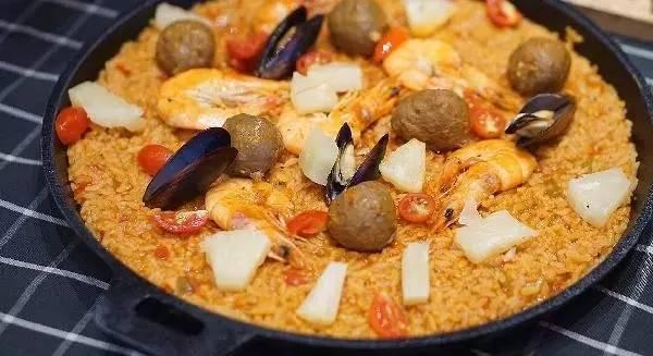 北京最美食的西班牙海鲜饭地图移动中华与支付美味图片