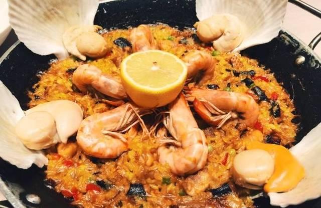 北京最美味的西班牙海鲜饭美食地图逍遥谷附近图片