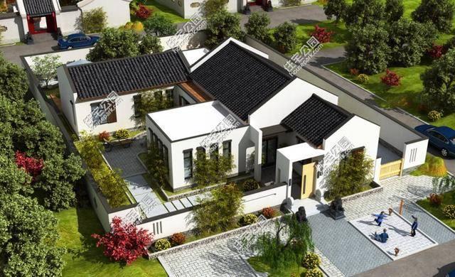 洋别墅再漂亮,也没有我们的中式小院好 16x21米图片
