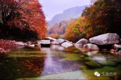 空山国家森林公园位于四川省通江县境内,地处四川盆地东北缘的米仓山图片