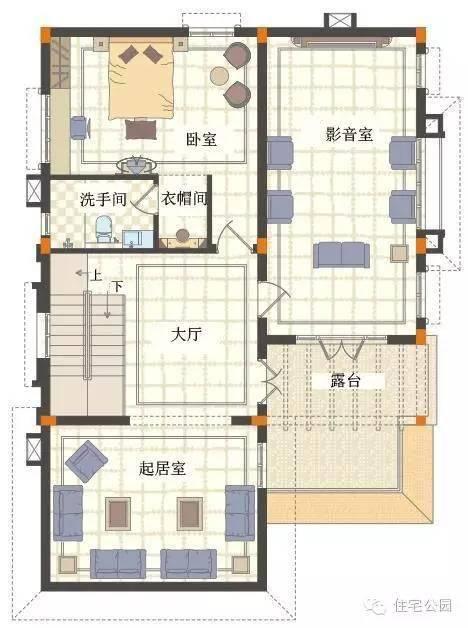 手机画房的平面图