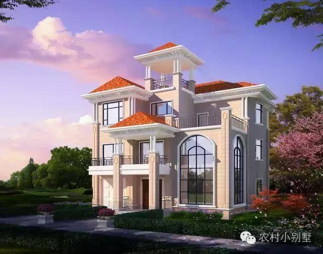 10套最具中国风农村别墅设计和效果图 回农村建一栋