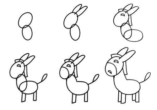 最适合宝宝上幼儿园学习的简笔画