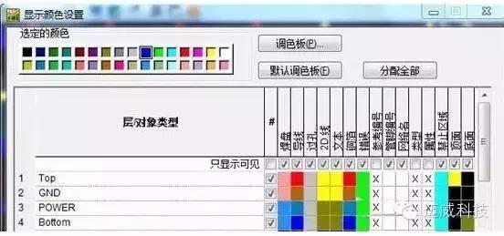 PADS绘制鹤壁v鹤壁设置颜色海报设计公司图片