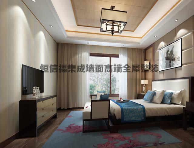 最新集成房屋室内设计效果图赏析水管墙面设计平面图图片
