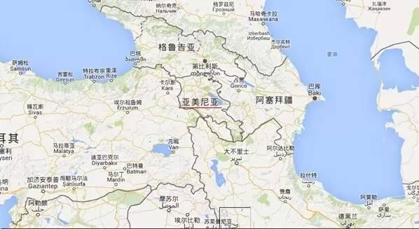 中国亚美尼亚免签