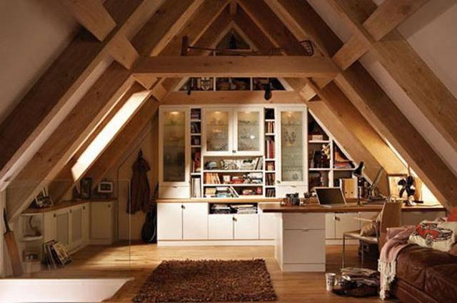 10套阁楼装修案例 怪不得坡屋顶贵过平屋顶