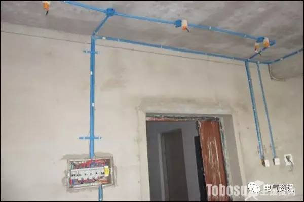 家装电路布线的原则 室内装修电路图