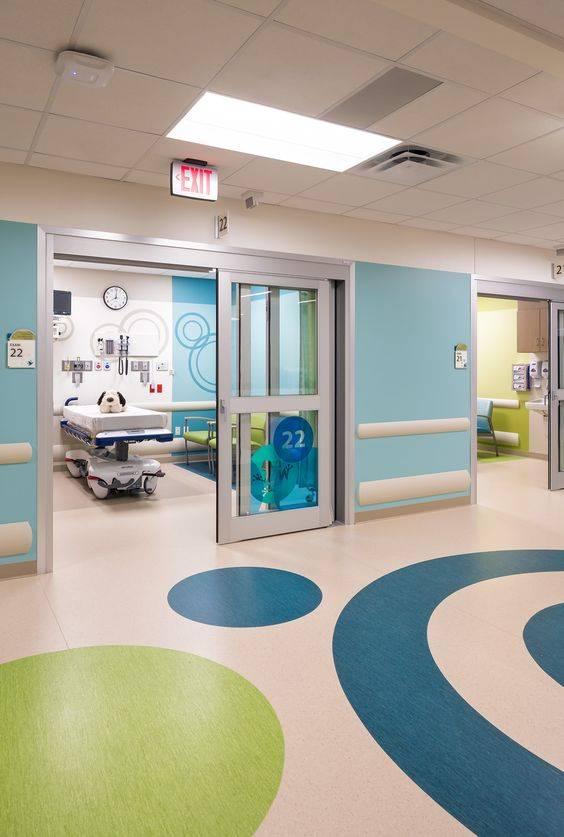 10家国外儿童医院装修实景图,儿童医院设计效果图
