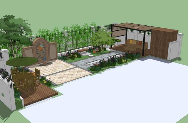 8种别墅庭院设计效果图诠释8种经典设计风格图片