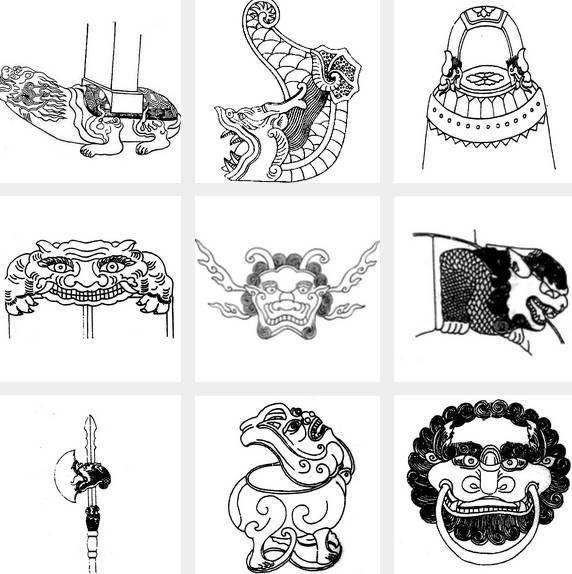 杰作| 从青铜器纹样到《长城》男一号,上古恶兽饕餮靠图片