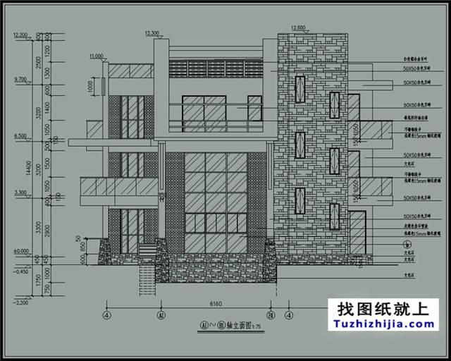 图纸预览图及简介:[仅是局部效果预览,详细内容及整套图纸请下载附件查看] 建筑占地面积:8.3*14.6; 占地面积:148.2平方米【图纸尺寸可根据实际情况修改】 建筑面积:395平方米 建筑层数:三层; 建筑高度:12.6米(含屋顶)坡屋顶; 建筑结构:框架结构; 设计功能: 一层:餐厅、厨房、卫生间、玄关、门廊、工人房、客厅; 二层:客厅上空、起居室、露台、阳台、2间衣帽间、2间卧室、2间卫生间 三层:阳台、2间卧室、3间衣帽间、3间卫生间、露台; 图纸目录: 总平面图、轴立面图、轴展开立面图、建