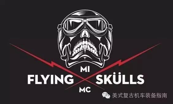 国外机车俱乐部logo赏析 硬汉工作室机车俱乐部对标设计 如果您的车队
