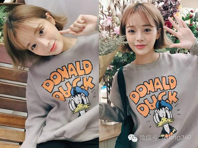 萌翻众人的韩版萝莉短发发型图片