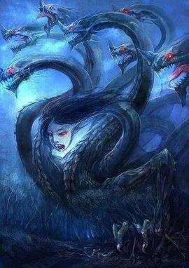 古代神话拥有九头的上古神兽, 八岐大蛇不堪一击