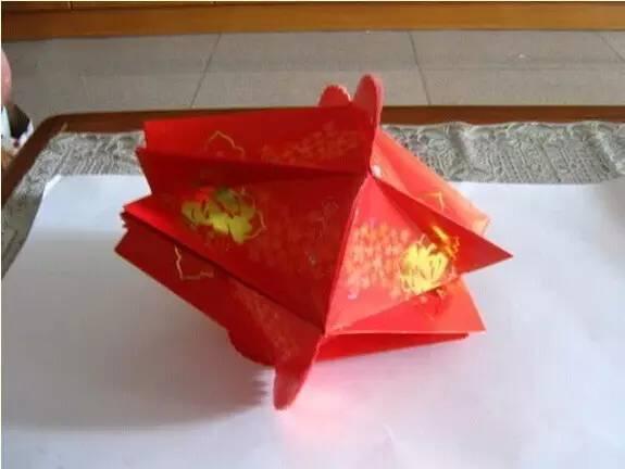 自制红包灯笼教程第五步:做两份图片