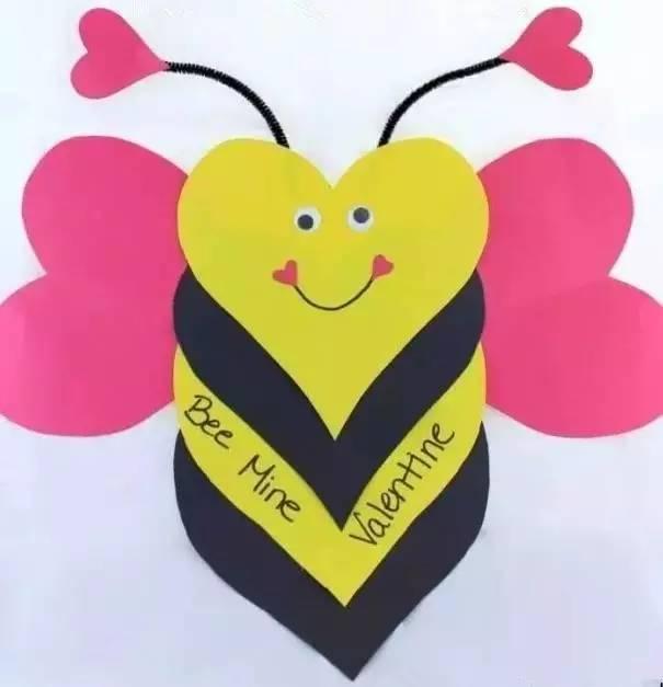 蜜蜂立体手工制作图片