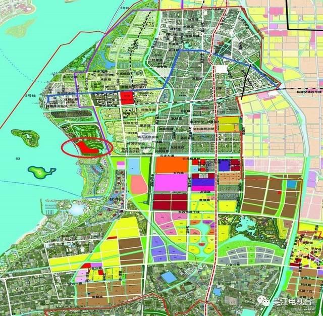 吴江苏州湾规划图2017