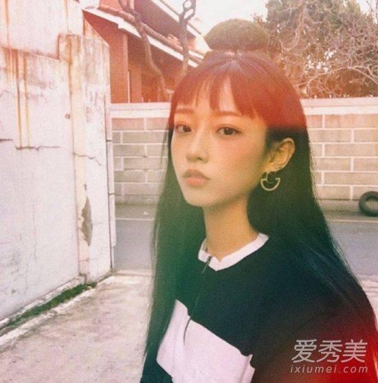 御姐也能变萝莉?2017韩国女生扎堆爱上短刘海图片