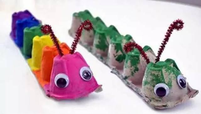 手工diy:幼儿园纸蛋托的创意手工!