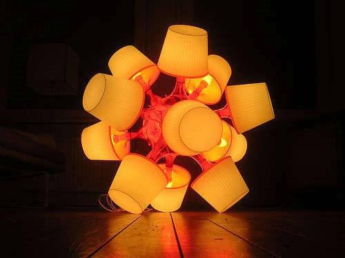 五款自制创意灯罩 教您做最省钱的diy家品