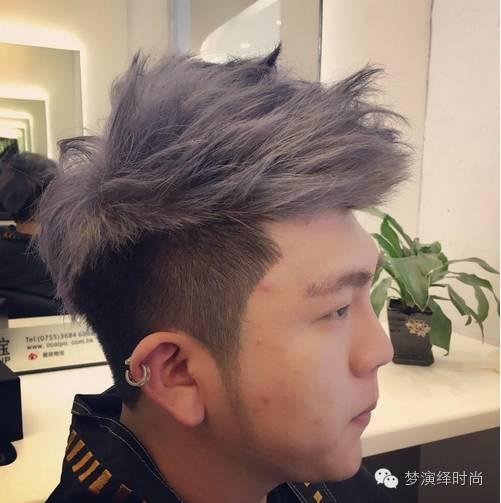 时尚男士短发发型图片
