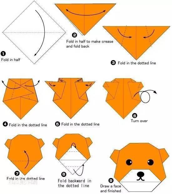 带孩子感受下中国的民间艺术 折纸图片