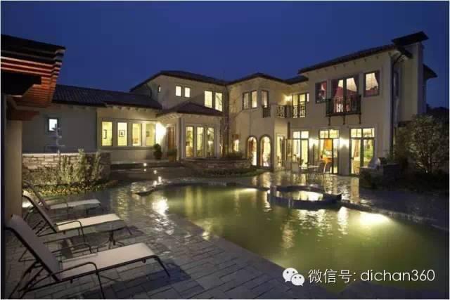 南区风禾村:运用意式,法式,英式等多种别墅风格.