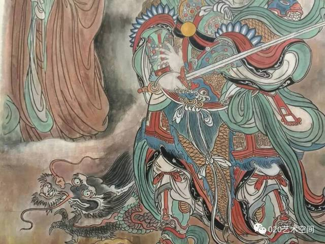 林柳妍:永乐宫壁画,临摹一次,震撼一次