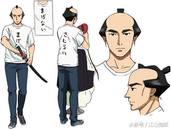 日本古代男士发型为什么这么古怪?原因简单