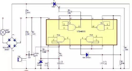 电路7:红外遥控器检测仪的制作