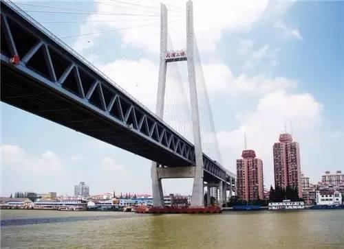 奉浦大桥是黄浦江上的第四桥,是上海城市总体规划中南北快速干道四号