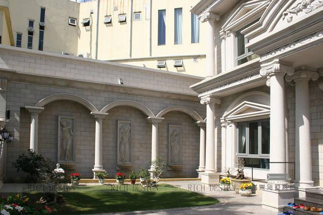 怡景花园别墅室内设计建筑设计做法地面图片