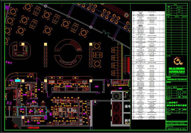 酒店厨房设备设计平面图,cad图介绍-一厨一帮