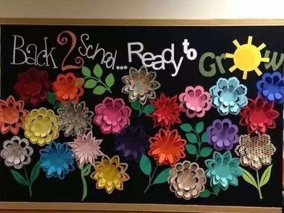 15款幼儿园春天主题墙手工环创!