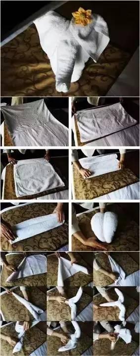 瞬间让酒店变高大上的6种方巾叠法